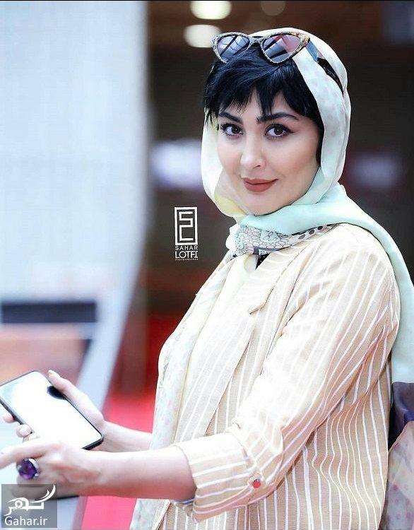 356716 Gahar ir e1555708216827 استایل مریم معصومی در جشنواره جهانی فیلم فجر 98