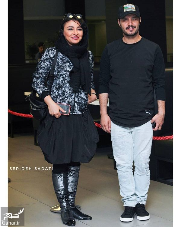 395729 Gahar ir عکسهای مهلقا باقری و جواد عزتی در جشنواره جهانی فیلم فجر 98