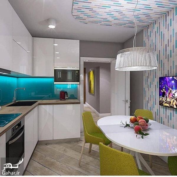 427777 Gahar ir مدل جدید آشپزخانه 2019 با کابینت شیک و طراحی لاکچری (10 مدل)