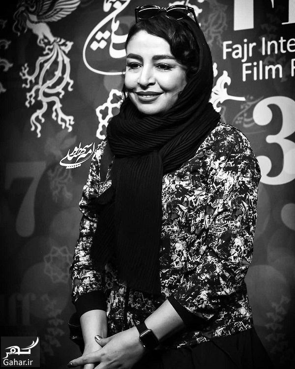 506473 Gahar ir عکسهای مهلقا باقری و جواد عزتی در جشنواره جهانی فیلم فجر 98