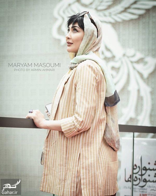 541600 Gahar ir استایل مریم معصومی در جشنواره جهانی فیلم فجر 98