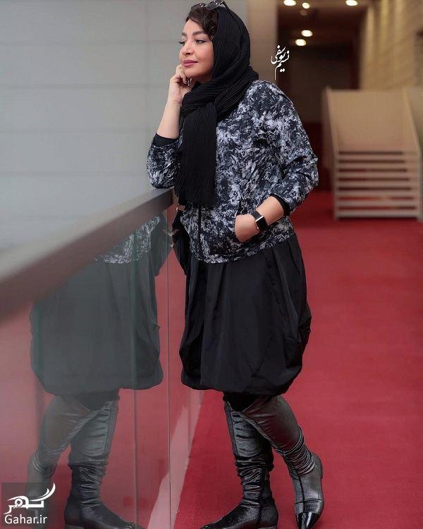 605309 Gahar ir عکسهای مهلقا باقری و جواد عزتی در جشنواره جهانی فیلم فجر 98
