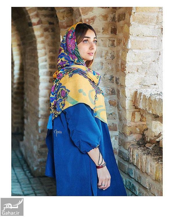 957347 Gahar ir عکسهای مدلینگ دریا مرادی دشت برای برند روسری