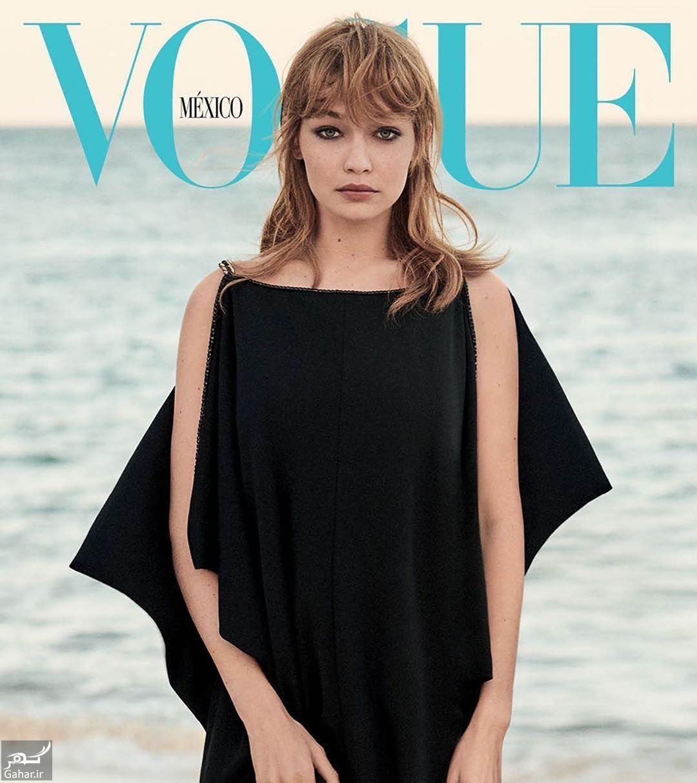 027555 Gahar ir فتوشات های جی جی حدید مدل معروف برای مجله وگ مکزیک