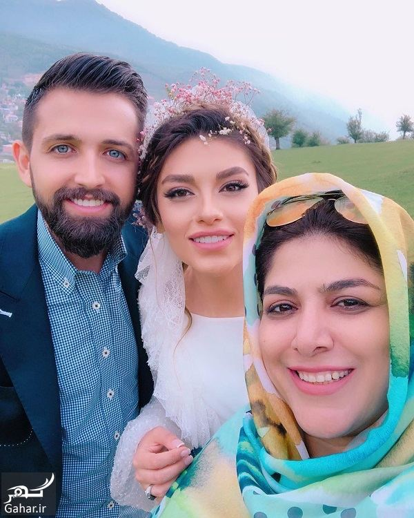 053781 Gahar ir فیلم و عکسی از عروسی محسن افشانی و همسرش سویل