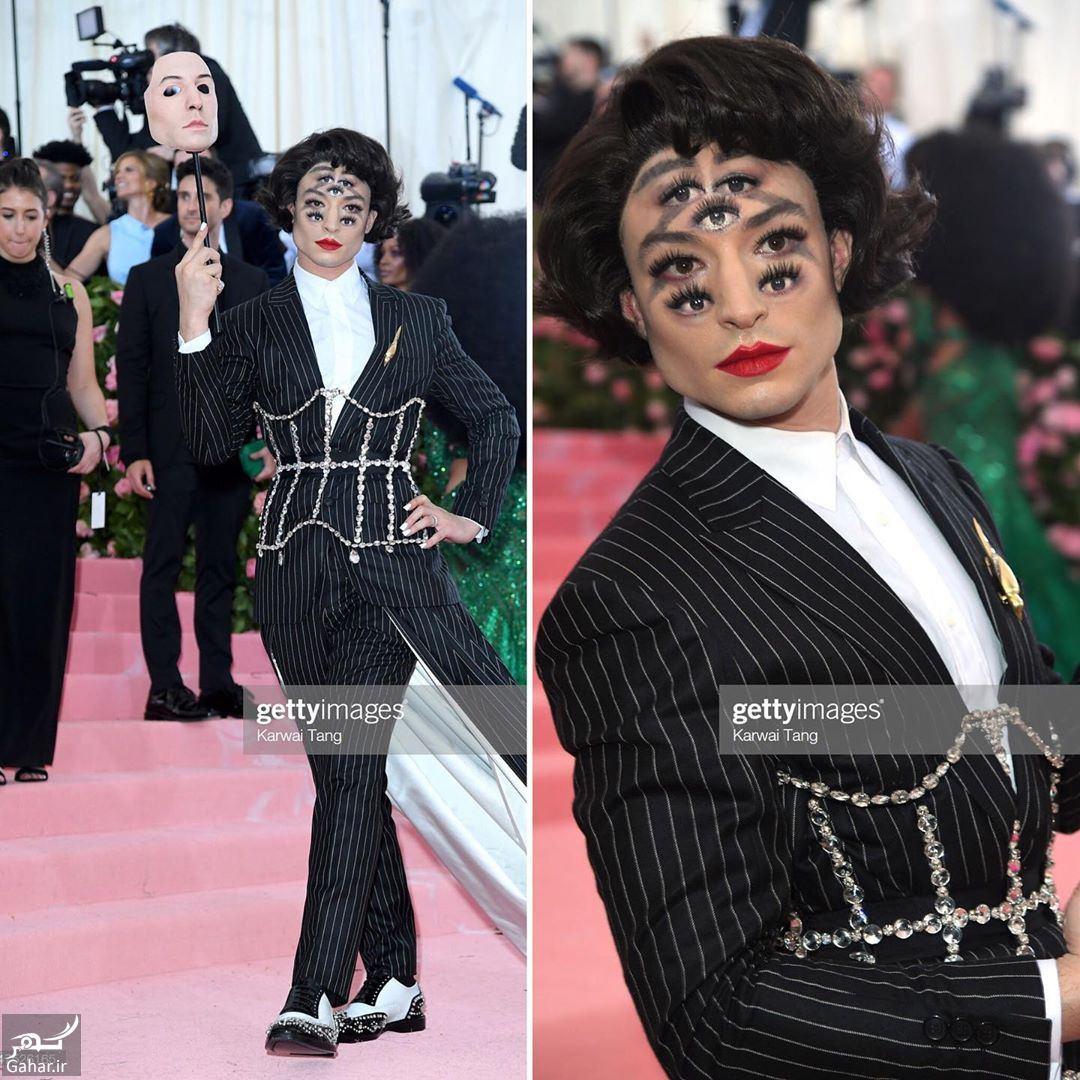 099441 Gahar ir آرایش گیج کننده بازیگر هالیوودی در مراسم مت گالا 2019 (حتما ببینید)