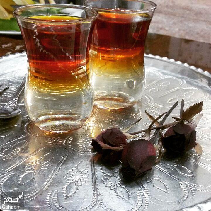 227720 Gahar ir روش ریختن چای دورنگ