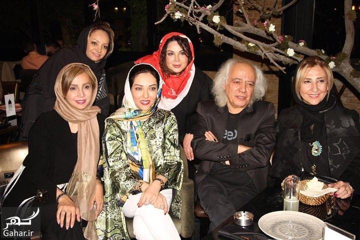 483955 Gahar ir عکسهای لیلا اوتادی در مراسم افطاری کنار همکارانش