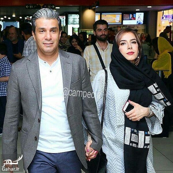 529157 Gahar ir عکس آریا عظیمی نژاد و همسرش در اکران فیلم خانه دیگری