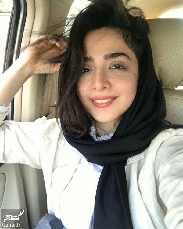 600756 Gahar ir سلفی خسته المیرا دهقانی بازیگر