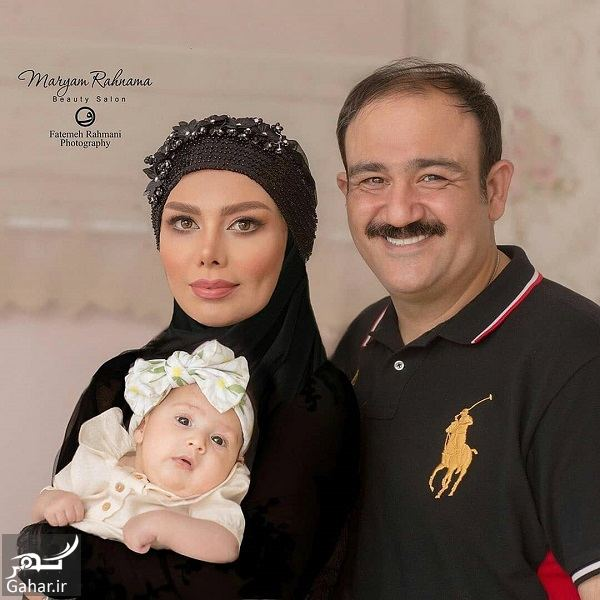 776428 Gahar ir عکسهای آتلیه ای مهران غفوریان و همسر و دخترش
