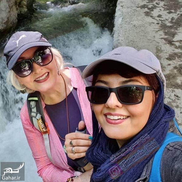 449778 Gahar ir کوهنوردی آناهیتا همتی و مادرش / عکس
