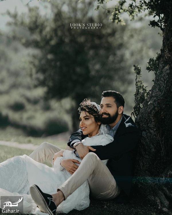 467781 Gahar ir عکسهای آتلیه عروسی محسن افشانی و همسرش