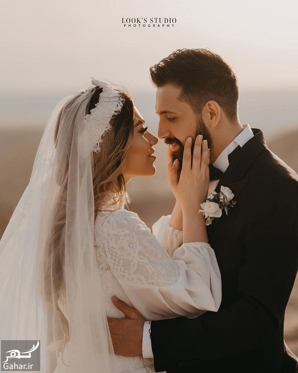541585 Gahar ir عکسهای آتلیه عروسی محسن افشانی و همسرش
