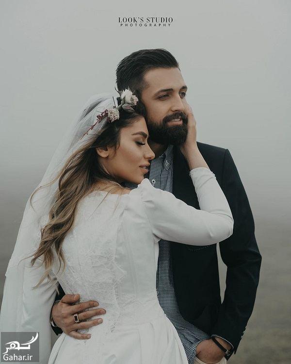 666166 Gahar ir عکسهای آتلیه عروسی محسن افشانی و همسرش