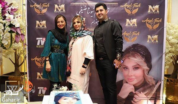 097567 Gahar ir عکسهای جشن تولد نیوشا ضیغمی با حضور بازیگران