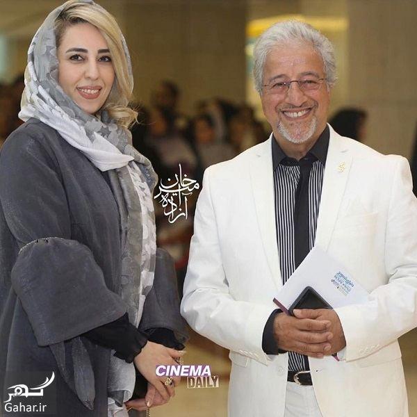 290590 Gahar ir عکسهای علیرضا خمسه و همسرش در جشن حافظ 98