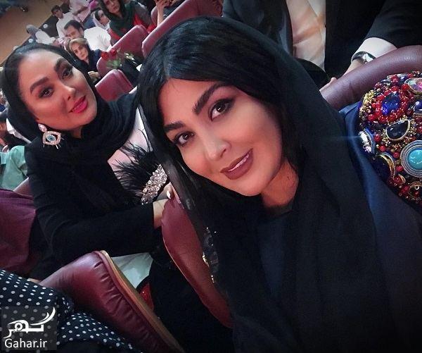 470214 Gahar ir استایل متفاوت مریم معصومی در جشن حافظ 98 / تصاویر
