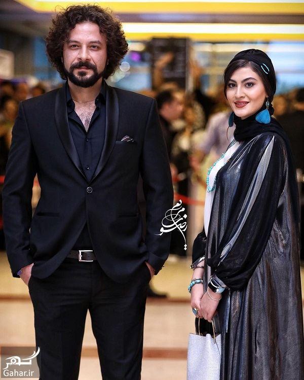 805246 Gahar ir عکسهای مریم مومن و حسام منظور در جشن حافظ 98