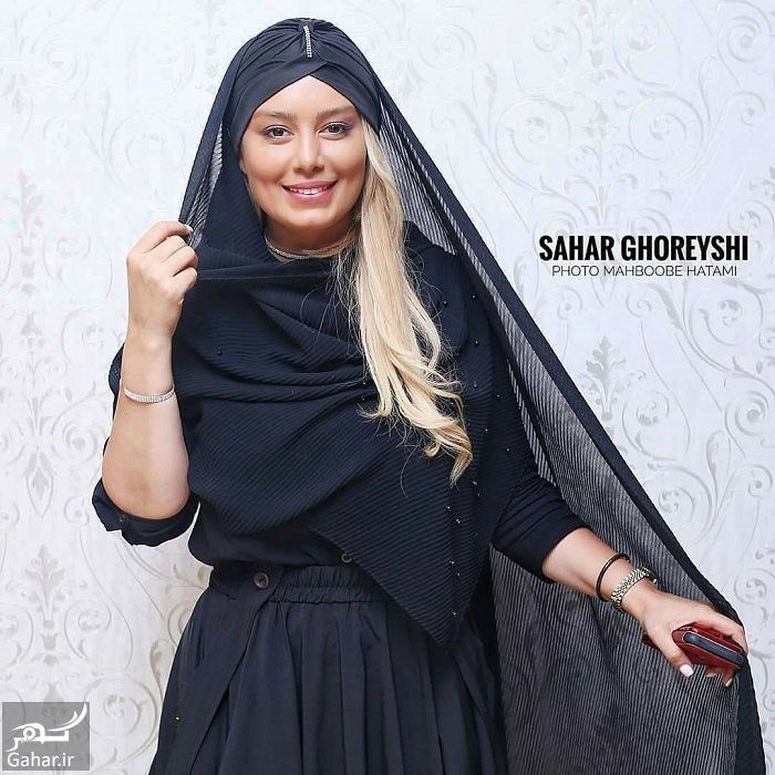 955851 Gahar ir استایل متفاوت سحر قریشی در اکران مردمی ایکس لارج / 8 عکس