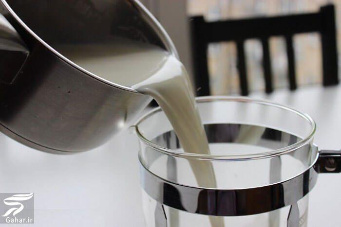 108768 Gahar ir قهوه با کف شیر (تزیین روی قهوه با شیر)
