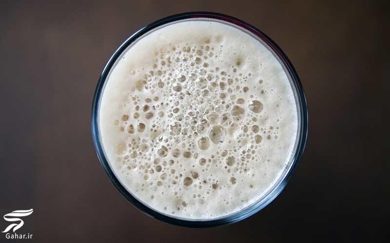 151751 Gahar ir قهوه با کف شیر (تزیین روی قهوه با شیر)