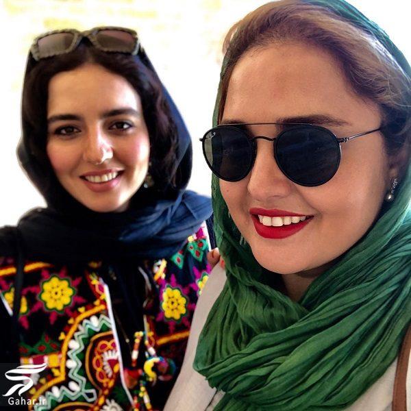 766297 Gahar ir عکسهای دیدنی نرگس محمدی و خواهرش در اصفهان