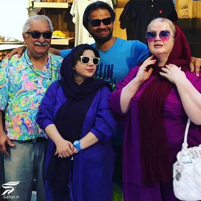 860059 Gahar ir عکس علی صادقی کنار پدر و مادر و خواهرش