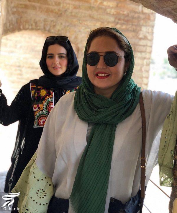976137 Gahar ir عکسهای دیدنی نرگس محمدی و خواهرش در اصفهان
