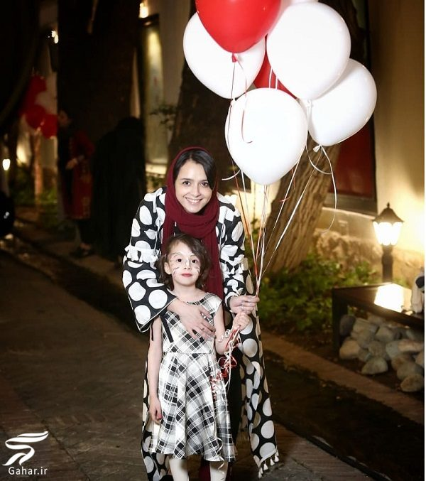 113356 Gahar ir عکس جدید و دیدنی ترانه علیدوستی و دخترش حنا