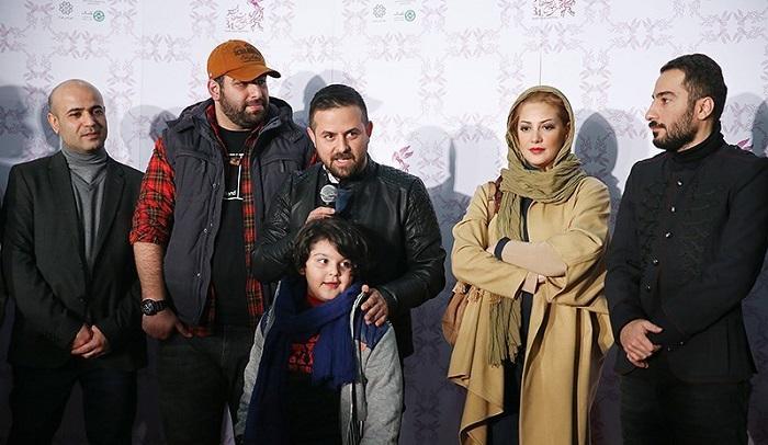 1454510358 عکس های بازیگران در فرش قرمز فیلم خشم و هیاهو جشنواره فجر 94