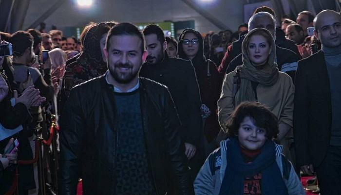 1454542592 عکس های بازیگران در فرش قرمز فیلم خشم و هیاهو جشنواره فجر 94