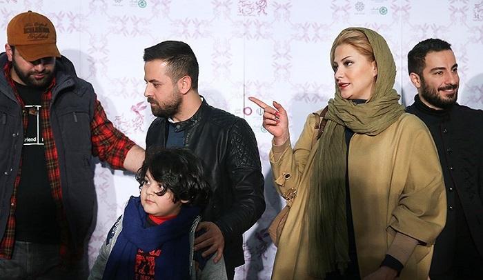 1454546559 عکس های بازیگران در فرش قرمز فیلم خشم و هیاهو جشنواره فجر 94