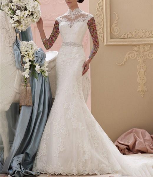 1454857570 جدیدترین و شیک ترین مدل لباس عروس ویژه سال 2016