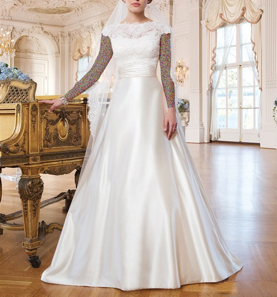1454858793 جدیدترین و شیک ترین مدل لباس عروس ویژه سال 2016