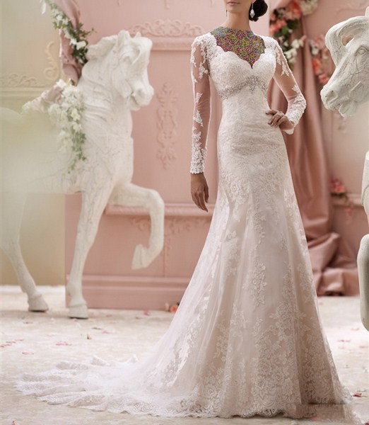 1454860956 جدیدترین و شیک ترین مدل لباس عروس ویژه سال 2016