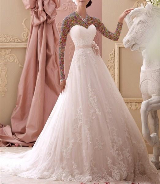1454895437 جدیدترین و شیک ترین مدل لباس عروس ویژه سال 2016