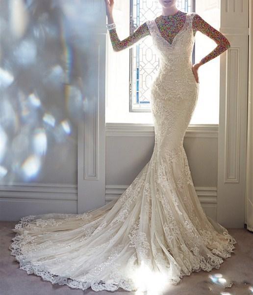 1454899457 جدیدترین و شیک ترین مدل لباس عروس ویژه سال 2016