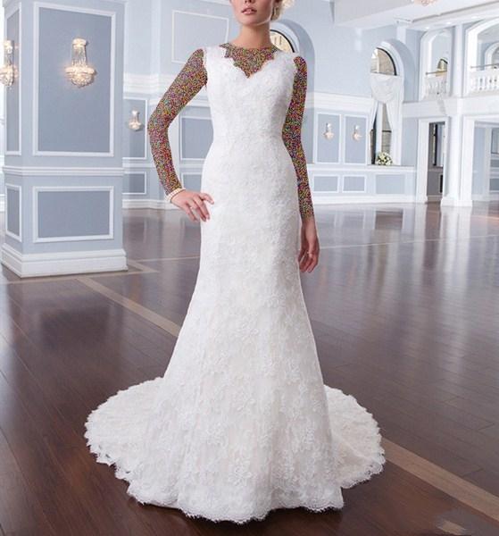 1454927127 جدیدترین و شیک ترین مدل لباس عروس ویژه سال 2016