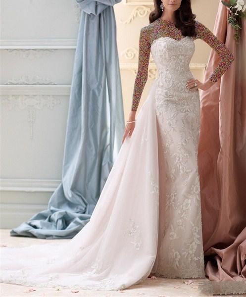 1454931217 جدیدترین و شیک ترین مدل لباس عروس ویژه سال 2016