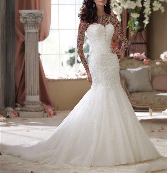 1454945642 جدیدترین و شیک ترین مدل لباس عروس ویژه سال 2016