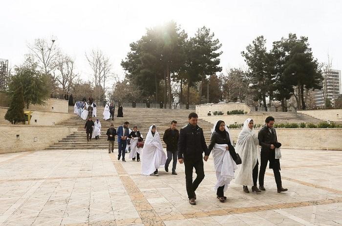 1455192886 عکس های جشن ازدواج دانشجویی در مشهد   زمستان 94