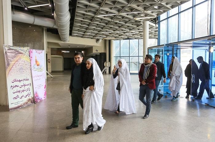 1455242092 عکس های جشن ازدواج دانشجویی در مشهد   زمستان 94