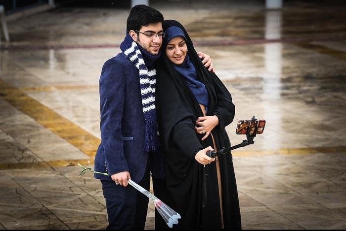 1455245552 عکس های جشن ازدواج دانشجویی در مشهد   زمستان 94