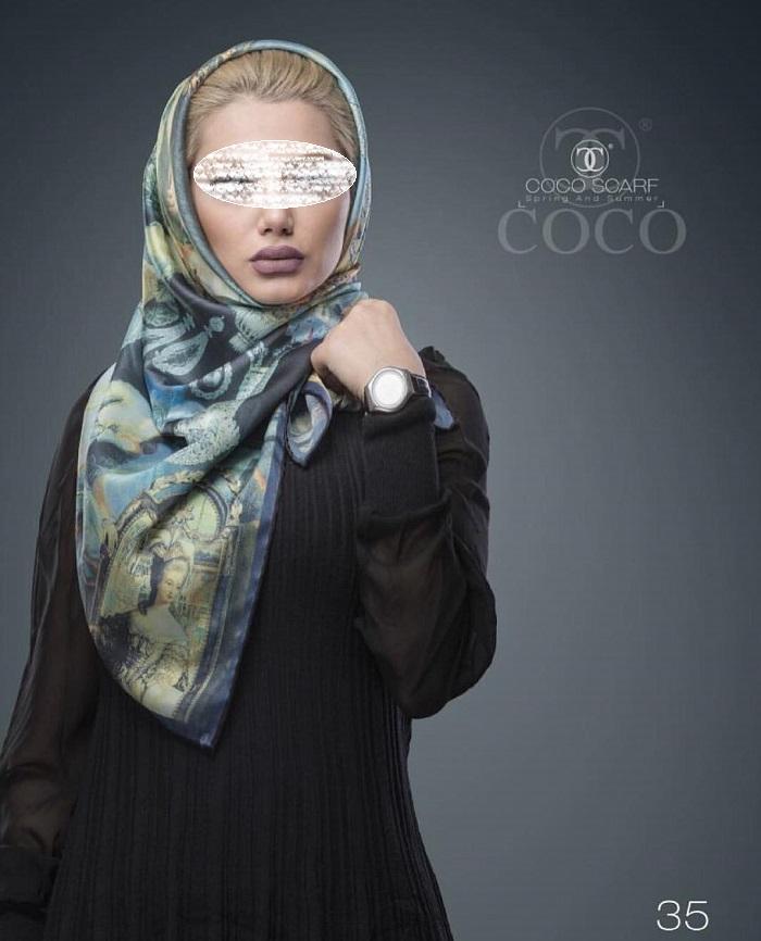 1455503430 مدلهای جدید روسری شیک زنانه و دخترانه 95
