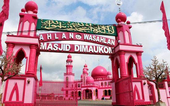 1456197164 عکس ؛ مسجدی صورتی شکل در فیلیپین!
