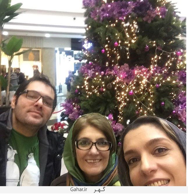 1456449800 عکس جدید الیکا عبدالرزاقی و برادرش بورژین و مادرش