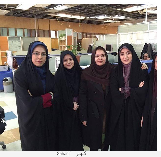 1456481242 عکس های فضه سادات حسینی مجری و گوینده خبر