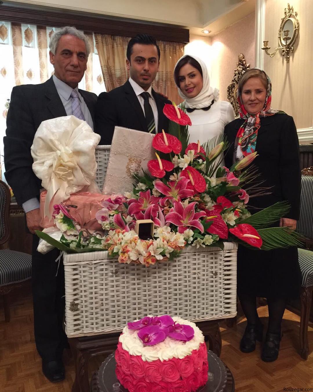 1459253394 عکس : مراسم ازدواج نجمه جودکی مجری تلویزیون