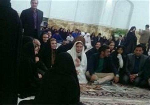1459474086 عکس های ازدواج رضا قوچان نژاد با خواهر ساره بیات